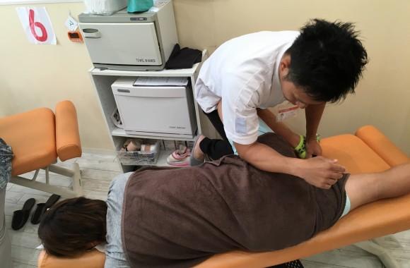 たけし接骨院の治療