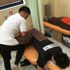 膝離断性骨軟骨炎Ope後の膝の痛みに悩む少年が来院しました。