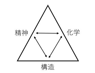 【精神・構造・生体化学】の3つの側面からアプローチ